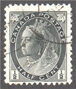 Canada Scott 74 Used VF