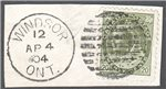 Canada Scott 84 Used VF on Piece (P)