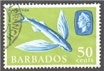 Barbados Scott 587a Used