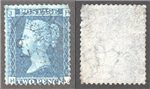 Great Britain Scott 29 Used Plate 9 - HJ (P)