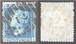 Great Britain Scott 29 Used Plate 9 - NA (P)