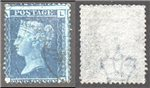 Great Britain Scott 29 Used Plate 9 - LA (P)