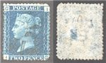 Great Britain Scott 30 Used Plate 15 - IG (P)