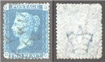 Great Britain Scott 30 Used Plate 14 - DG (P)