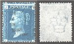 Great Britain Scott 30 Used Plate 13 - IJ (P)