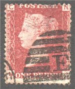 Great Britain Scott 33 Used Plate 92 - NC