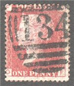 Great Britain Scott 33 Used Plate 137 - OF