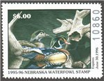 United States of America - Nebraska Scott 5 MNH (P209)