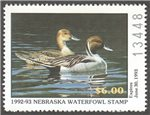 United States of America - Nebraska Scott 2 MNH (P206)