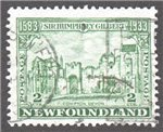 Newfoundland Scott 213 Used F