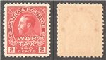 Canada Scott MR2 MNH VF (P)