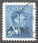 Canada Scott O15A Used VF