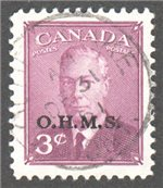 Canada Scott O14 Used VF