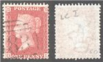 Great Britain Scott 20 Used Plate 50 - OL (P)