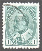 Canada Scott 89 Used VF