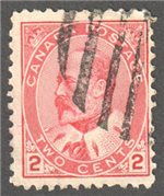 Canada Scott 90ii Used VF