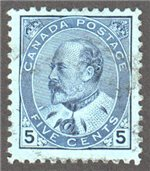 Canada Scott 91 Used VF