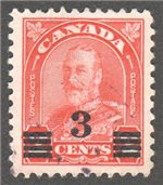 Canada Scott 191 Used VF