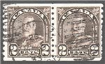 Canada Scott 182 Used Pair VF