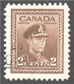 Canada Scott 250 Used VF
