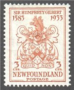Newfoundland Scott 214 Mint VF