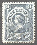 Newfoundland Scott 60 Used VF
