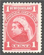 Newfoundland Scott 79 Mint F