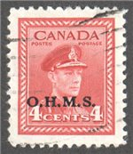 Canada Scott O4 Used VF