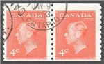 Canada Scott 310 Used F Pair