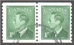 Canada Scott 297 Used VF Pair