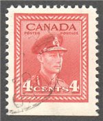 Canada Scott 254as Used F