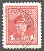Canada Scott 254 Used VF