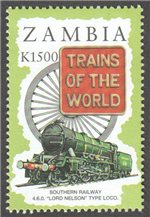 Zambia Scott 670-5 MNH (Set)