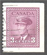 Canada Scott 252bs Used VF
