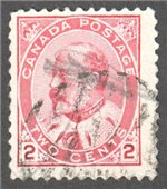 Canada Scott 90e Used VF