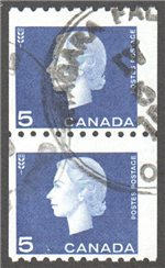 Canada Scott 409 Used Pair F