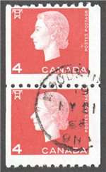 Canada Scott 408 Used Pair F