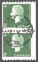 Canada Scott 406 Used Pair F