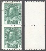 Canada Scott 123 Used Pair VF (P)