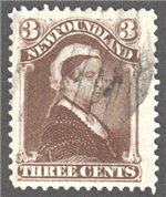Newfoundland Scott 51a Used VF
