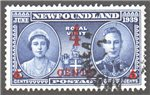 Newfoundland Scott 251 Used VF