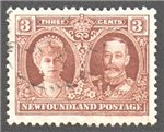 Newfoundland Scott 174 Used VF (P13.8x14)