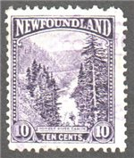 Newfoundland Scott 139 Used F