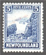 Newfoundland Scott 135 Used F