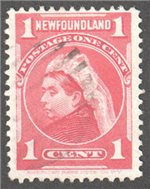 Newfoundland Scott 79 Used VF