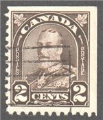 Canada Scott 166as Used VF