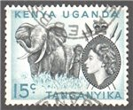 Kenya, Uganda and Tanganyika Scott 106 Used