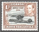 Kenya, Uganda and Tanganyika Scott 99 MNH