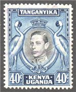 Kenya, Uganda and Tanganyika Scott 78 Used