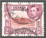 Kenya, Uganda and Tanganyika Scott 81b Used